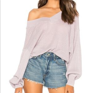 Free People South Side light Thermal Top